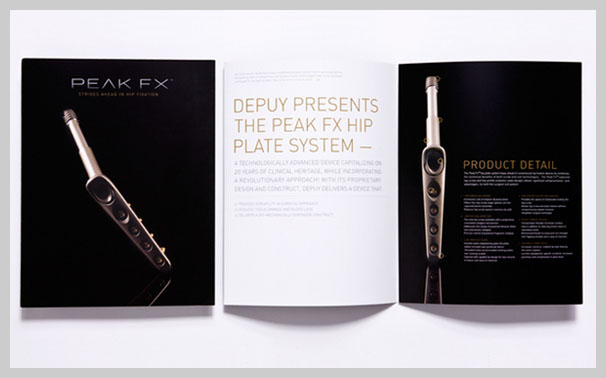 Medical Brochure Design - Peak FX
