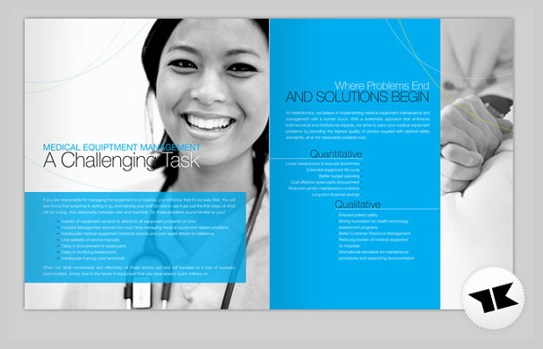 Medical Brochure Design - Healthronics