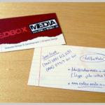 16 Red Business Cards Design Samples