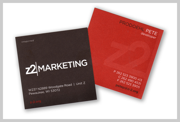 16 red business cards design samples uprinting for Marketing business card