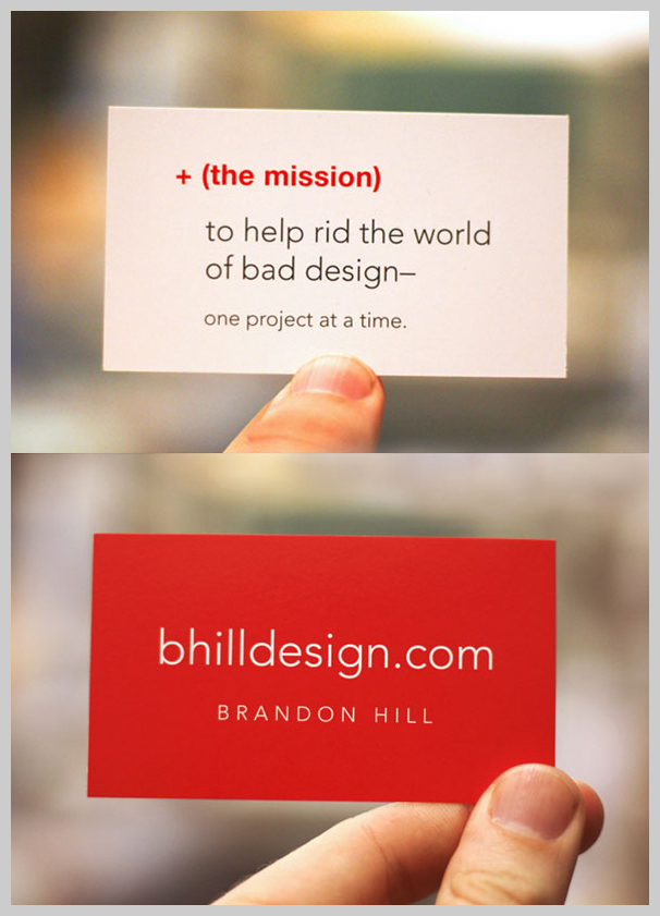 16 Red Business Cards Design Samples | UPrinting