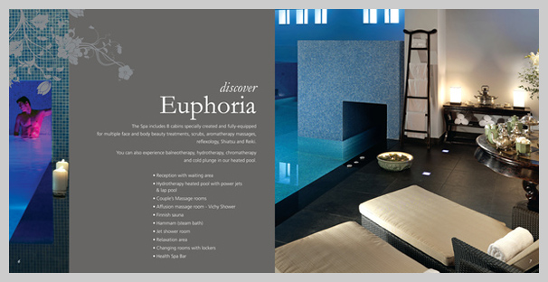 16 spa brochure design and print examples uprinting for Design hotel definition