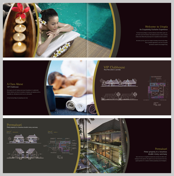 hotel brochure design inspiration - 16 spa brochure design and print examples uprinting