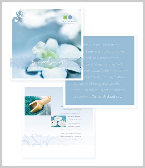 Spa Brochure Design - Rejuvenate Yourself