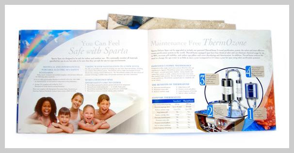 Spa Brochure Design - Sparta Spas
