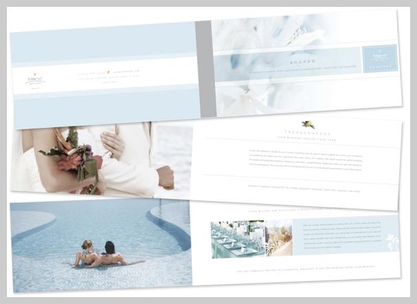 Spa Brochure Design - Le Blanc Spa Resort Weddings
