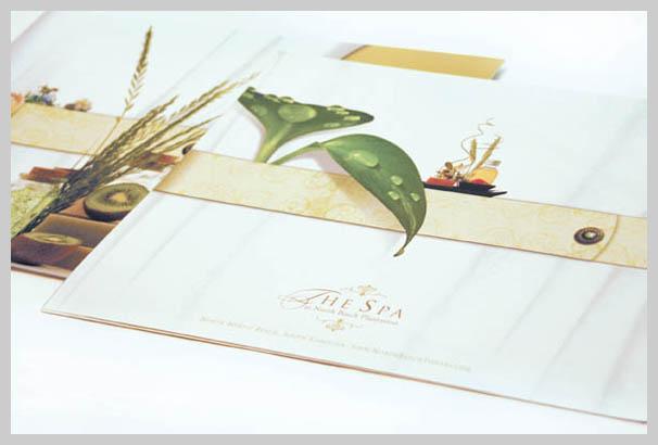 Spa Brochure Design - Kristen Hydeck