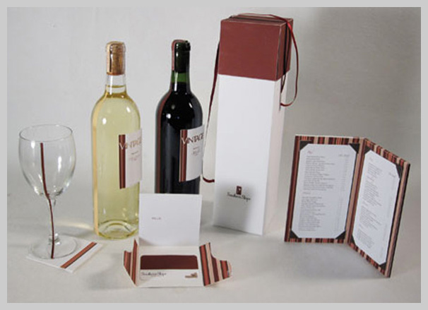 Wine Menu Design - Southern Slope
