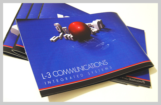 College Brochure Design   L3 Communications