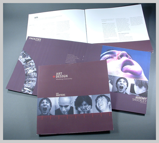 18 college brochure design and print examples uprinting for College brochure design pdf