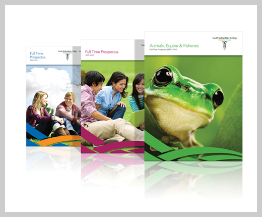 College Brochure Design - South Staffordshire College