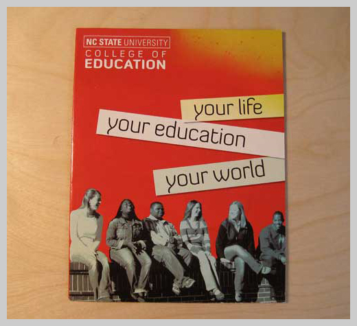 College Brochure Design   NCSU College Of Education