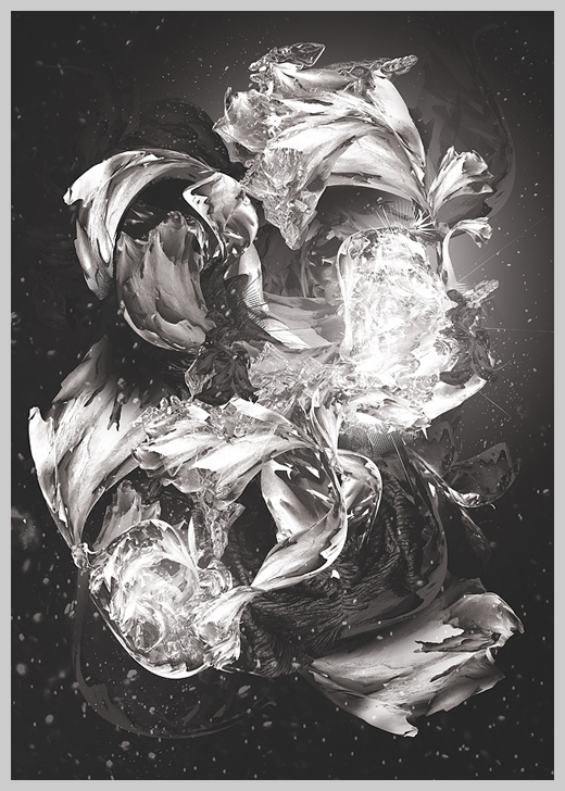 Digital Canvas Print - Moonflower