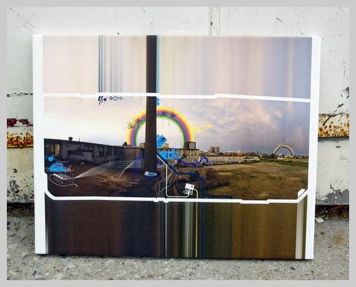Digital Canvas Print - Von Pixel Year One