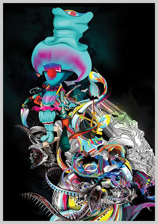 Digital Canvas Print - Got its Tott
