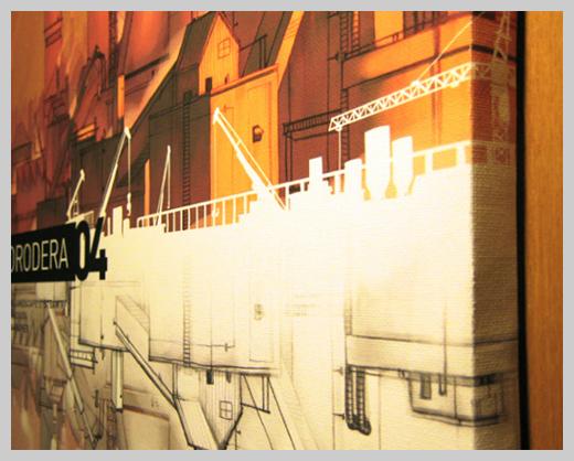Digital Canvas Print - Korodera