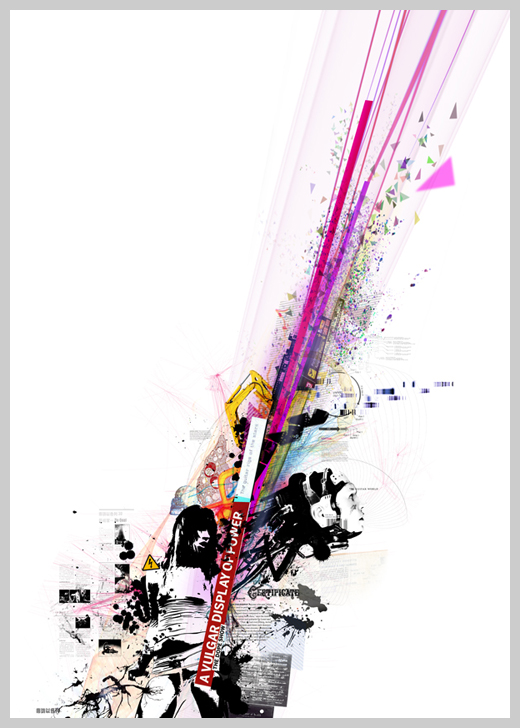 Digital Canvas Print - Vulgar Display of Power