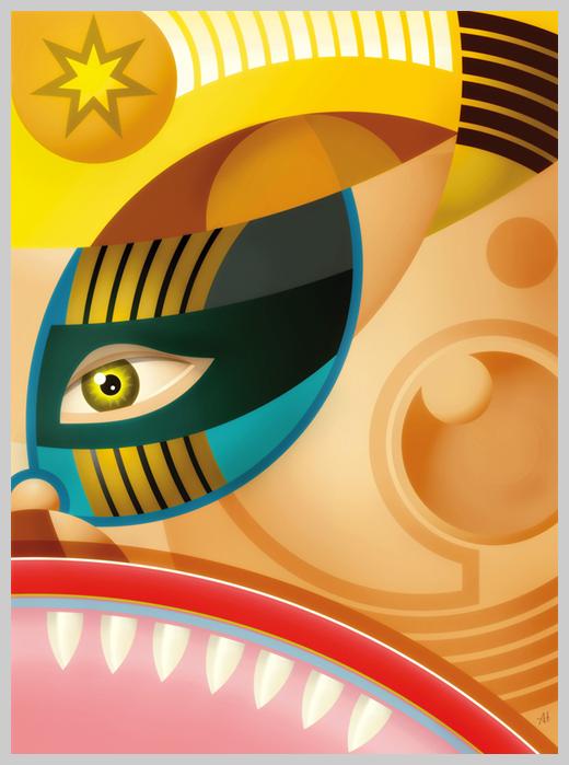 Digital Canvas Print - King of Stars