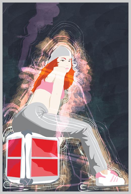 Digital Canvas Print - Breakadawn