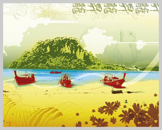 Digital Canvas Print - Thai