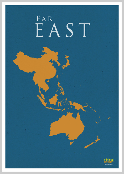 Minimalist Poster Design Examples - Minimal Geography