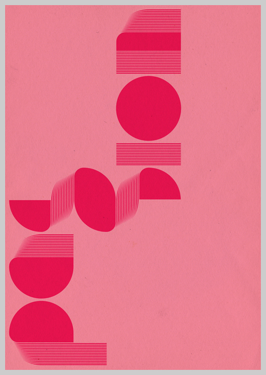 Minimalist Poster Design Examples - Exo Type