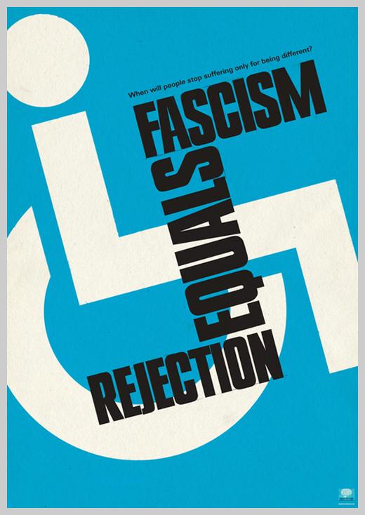 Minimalist Poster Design Examples - Fascism
