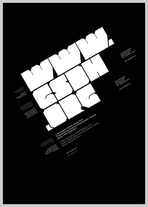 Minimalist Poster Design Examples - GSDH.org Poster