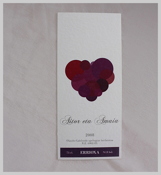 Wedding Invitation Greeting Cards - Aitor and Amaia