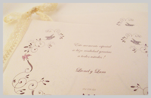 Wedding Invitation Greeting Cards - Lionel y Lara