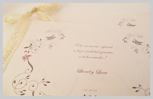 Wedding Invitation Greeting Cards - Lionel y Lara