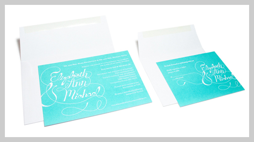 Wedding Invitation Greeting Cards - Mike and Beth