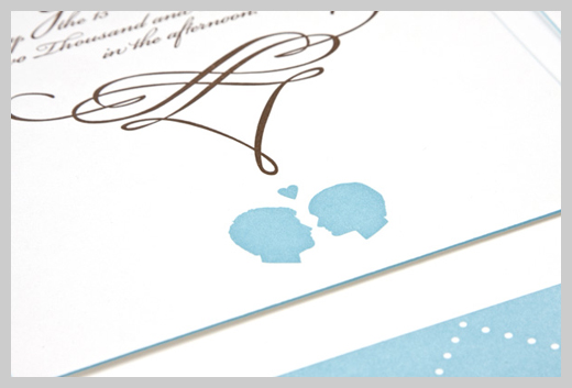 Wedding Invitation Greeting Cards - Antoinette Rodriguez and Trevor Gerring