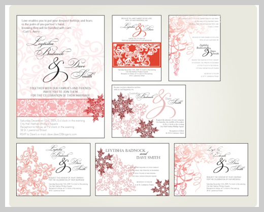 Wedding Invitation Greeting Cards - Vanessa King