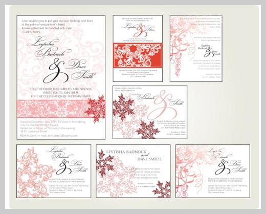 Wedding Invitation Greeting Cards - Vanessa King