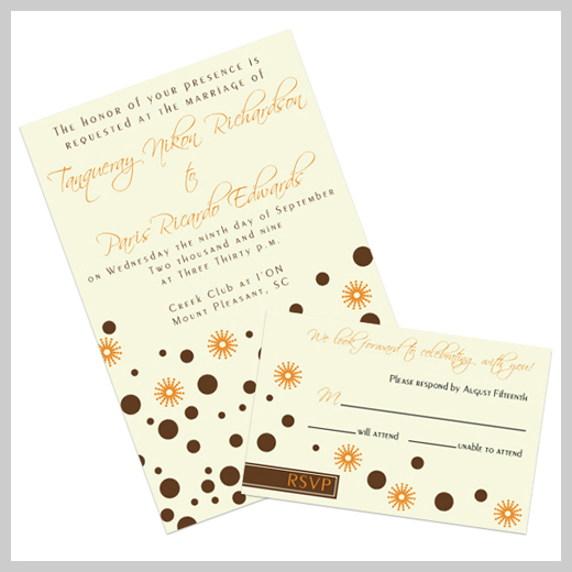 Wedding Invitation Greeting Card - Tim Lennon