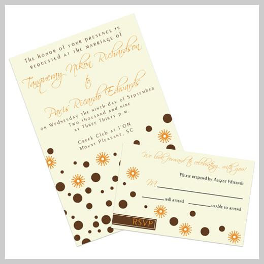 Wedding Invitation Greeting Card - Tim Lennon