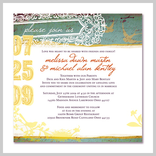 Wedding Invitation Greeting Cards - Jessica Dugan