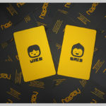 15 Yellow Business Cards' Creative Designs