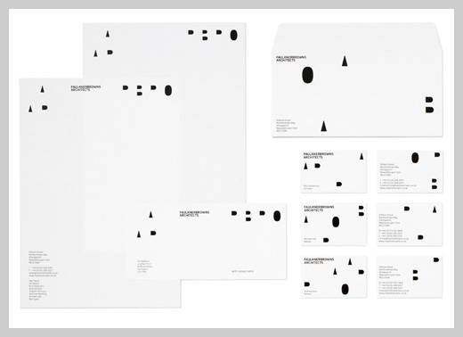 Company Letterhead Design - FaulknerBrowns Architects