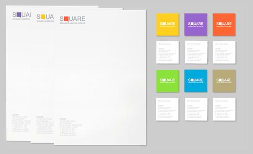 Company Letterhead Design - Square