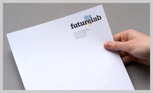 Company Letterhead Design - Futurelab