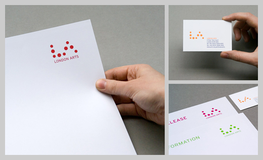 Company Letterhead Design - London Arts