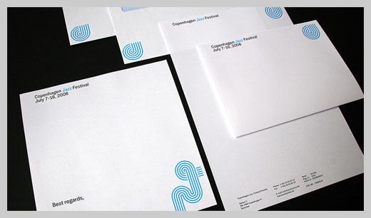 Company Letterhead Design - Copenhagen Jazz Festival