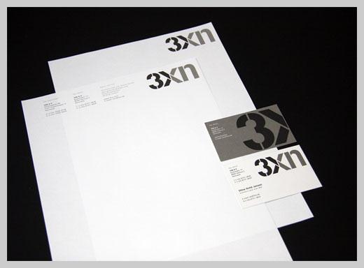 Company Letterhead Design - 3XN