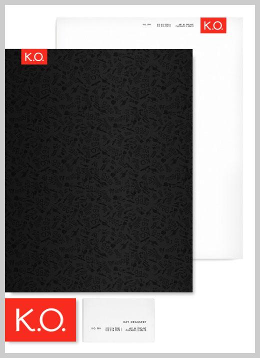 Company Letterhead Design - KO Gin
