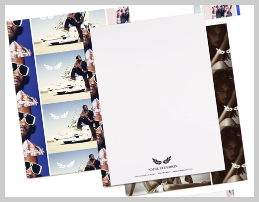 Company Letterhead Design - Nabil Elderkin