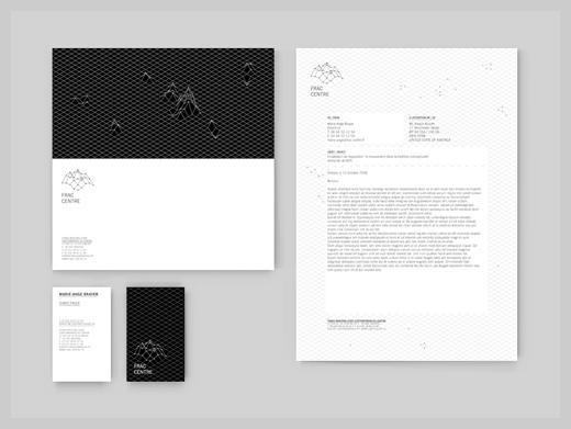 Company Letterhead Design - Papeterie Fractal