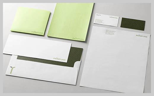 Company Letterhead Design - Palmfund