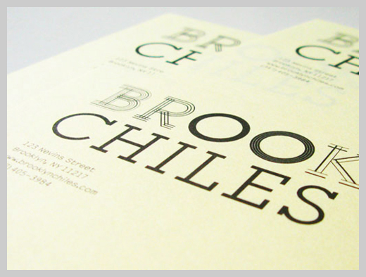 Company Letterhead Design - Brooklyn Chiles